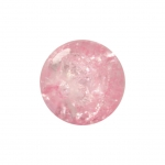 Kristallperle aus Glas, 6mm, rosa