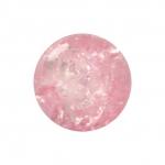 Kristallperle aus Glas, 8mm, rosa