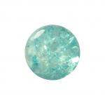 Kristallperle aus Glas, 6mm, hellblau