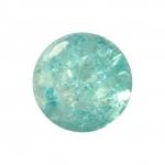 Kristallperle aus Glas, 8mm, hellblau