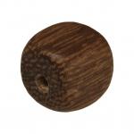 Holzperle (Robles Wood), 8mm, Würfel, kupferbraun