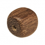 Holzperle (Robles Wood), 8mm, Würfel, mittelbraun