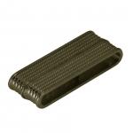 Magnetverschluß, 37mm, Loch-Ø 34X4mm, bronzefarben