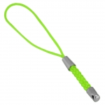 Handy-/ Schlüsselband, 80X3mm, neon grün