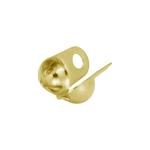 Kalotte (10 Stück), 3,2X5mm, Metall, goldfarben