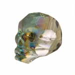 Totenkopf, 14mm, Crystal Vitrail Medium