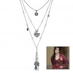 Anleitung Halskette mit Anhängern & Charms