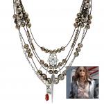 Anleitung Halskette mit Motivperlen & Anhängern