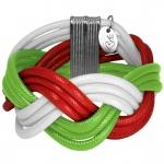 """Geflochtenes Armband """"WALES"""", Designset mit Bastelanleitung"""