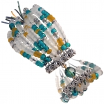 Rocaille Armband, Designset mit Bastelanleitung