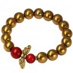 Armband mit Perlenengel, Designset mit Bastelanleitung