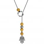Buddha Hand Halskette, Designset mit Bastelanleitung