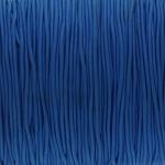 elastisches Band (50cm), 1,5mm, rund, jeansblau