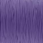 elastisches Band (50cm), 1,5mm, rund, violett