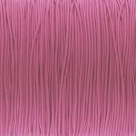 elastisches Band (50cm), 1mm breit, rund, altrosa