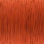 elastisches Band (50cm), 1mm breit, rund, orange