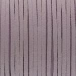 Schmuckband in Wildlederoptik (100cm), 3mm breit, hellviolett