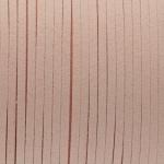 Schmuckband in Wildlederoptik (100cm), 3mm breit, rosa