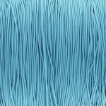 elastisches Band (50cm), 1mm, rund, hellblau