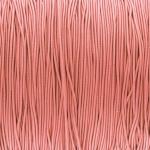 elastisches Band (50cm), 1mm, rund, Apricot