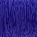 elastisches Band (50cm), 1mm, rund, royalblau