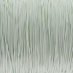 elastisches Band (50cm), 1mm, rund, natur