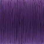 elastisches Band (50cm), 1mm, rund, dunkelviolett