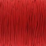 elastisches Band (50cm), 1mm, rund, rot