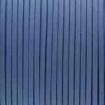 Schmuckband in Wildlederoptik (100cm), 3mm breit, blau