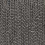 Geflochtenes Lederband (50cm), 3mm breit, rund, grau