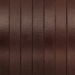Lederband, 50cm, 10X1,5mm breit, mittelbraun