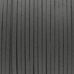 Schmuckband in Wildlederoptik (100cm), 3mm breit, dunkelgrau