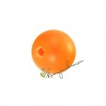 Swarovski Crystal Pearl (5810), 4mm, neon orange