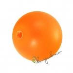Swarovski Crystal Pearl (5810), 10mm, neon orange