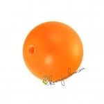 Swarovski Crystal Pearl (5810), 8mm, neon orange