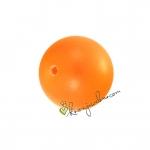 Swarovski Crystal Pearl (5810), 6mm, neon orange