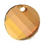 Swarovski Anhänger (6621), 18mm, Crystal Copper (001 COP)
