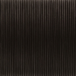 Lederband, 100cm, 1mm breit, dunkelbraun