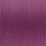 Gewachstes Baumwollband, 100cm, 2mm breit, dunkelviolett
