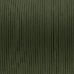 Gewachstes Baumwollband, 100cm, 2mm breit, khaki