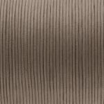 Gewachstes Baumwollband, 100cm, 2mm breit, braun-beige