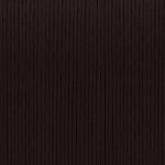 Gewachstes Baumwollband, 1,2mm breit, 100cm, dunkelbraun