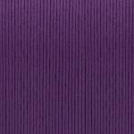 Gewachstes Baumwollband, 1,2mm breit, 100cm, dunkelviolett