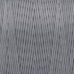 Gewachstes Band in Baumwolloptik (100cm), 1mm X 0,4mm breit, hellgrau