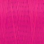 Gewachstes Band in Baumwolloptik (100cm), 1mm X 0,4mm breit, rosa
