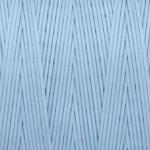 Gewachstes Band in Baumwolloptik (100cm), 1mm X 0,4mm breit, hellblau