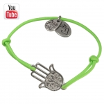 Video Anleitungung elastisches Armband mit Buddha Hand