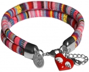 Anleitung 2-reihiges Armband mit Charm
