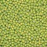 Holzperlen (10 Gramm, ca. 140 Stück), ca. 6 mm, hellgrün