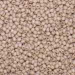 Holzperlen (10 Gramm, ca. 140 Stück), ca. 6 mm, sand